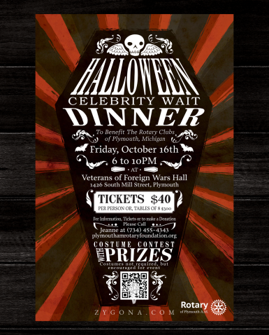Halloween Dinner Poster